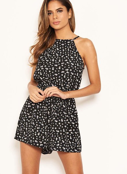 Ditsy Floral Playsuit