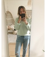 Crop Sweater Mint