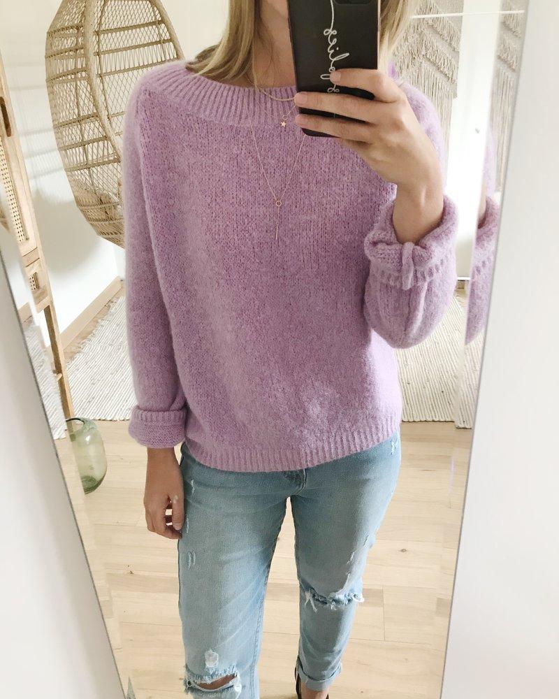 Soft Purple Sweater