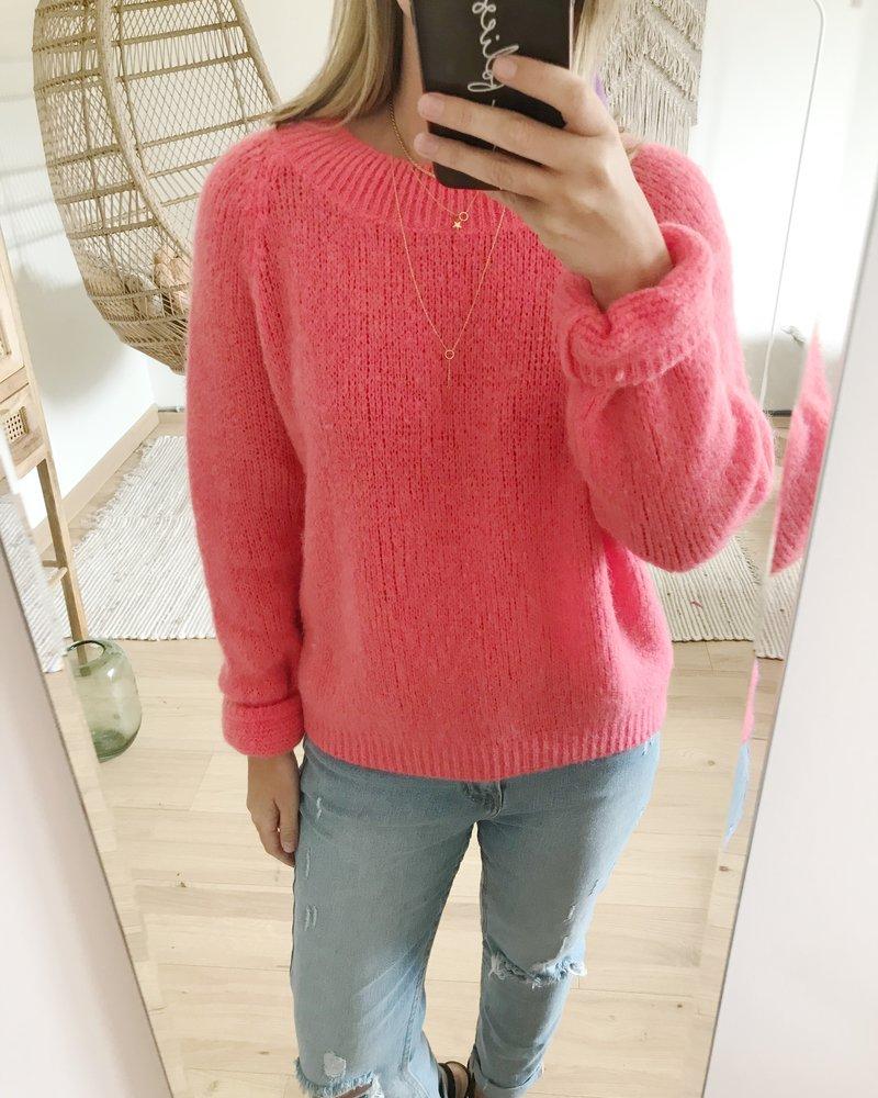 Soft Koraal Sweater
