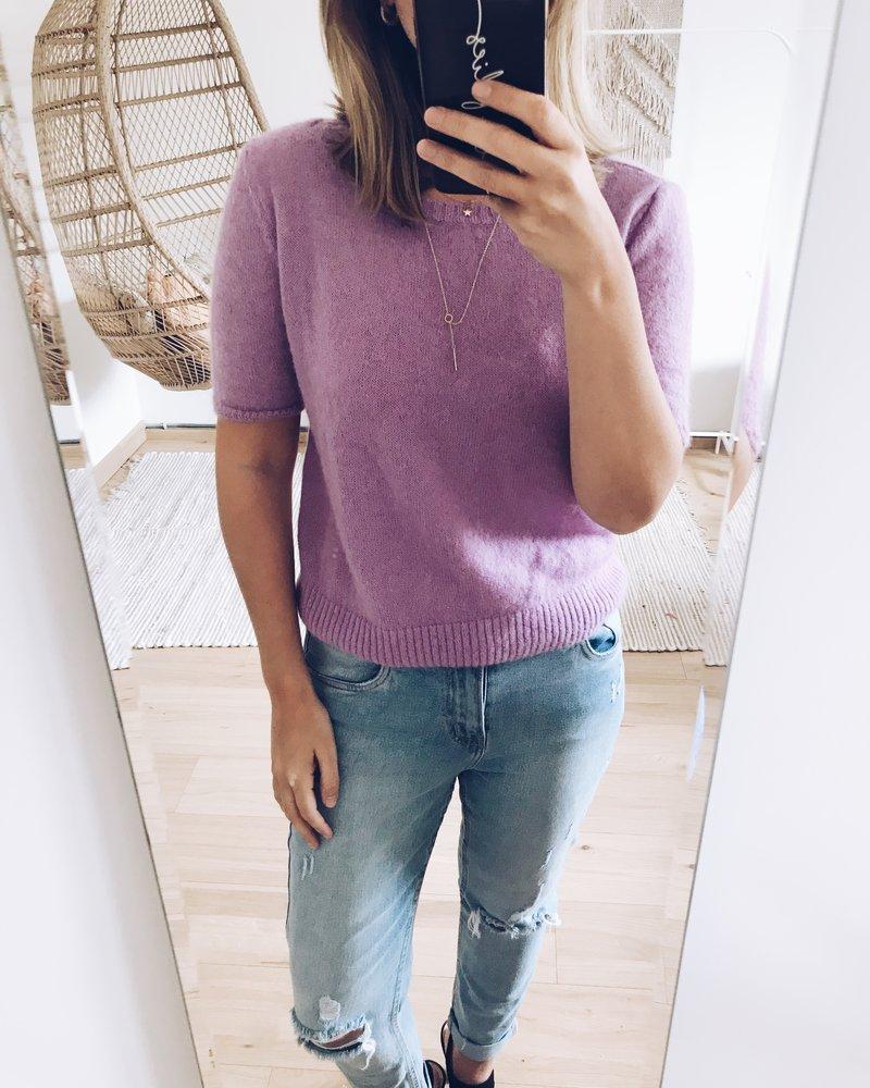 Spring Sweater Purple