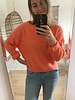 Crop Sweater Orange