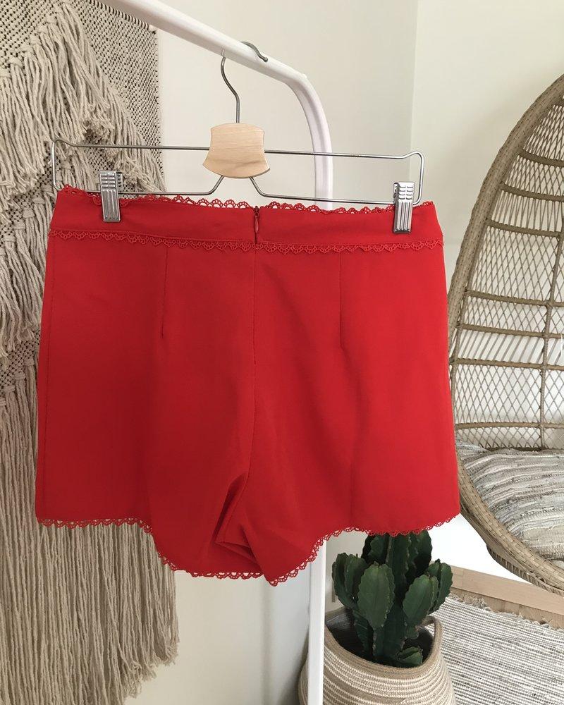 Red Summer Short
