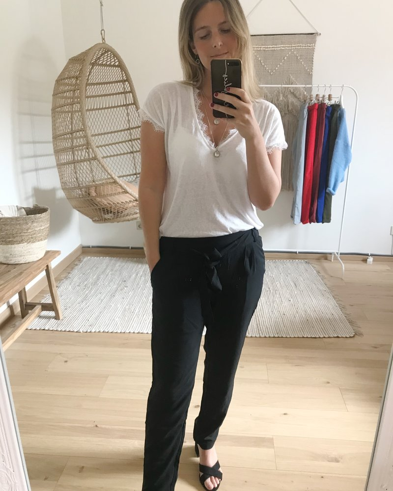 Casual Chic Pants Black