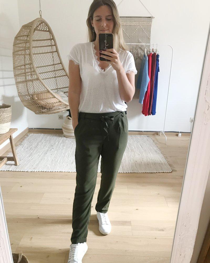 Casual Chic Pants Kaki