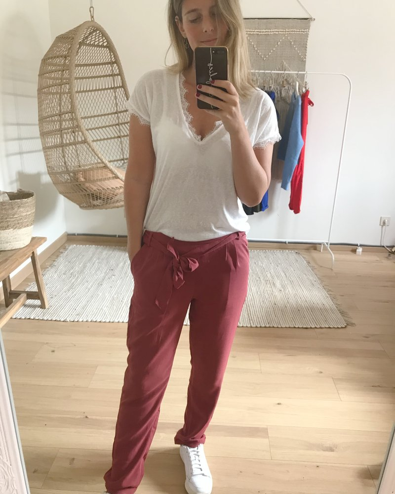 Casual Chic Pants Roze