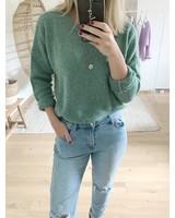 Loose Sweater Light Kaki