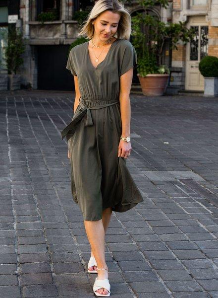 Eline Dress Kaki