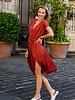 Eline Dress Winered