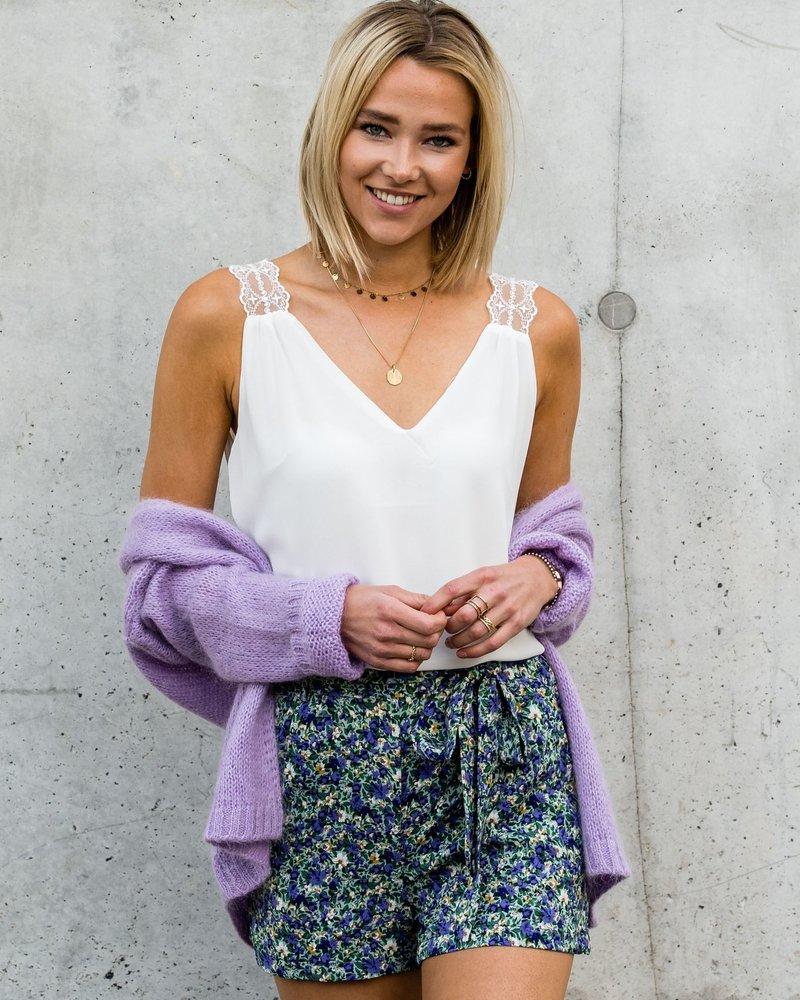 Colourful Short Purple
