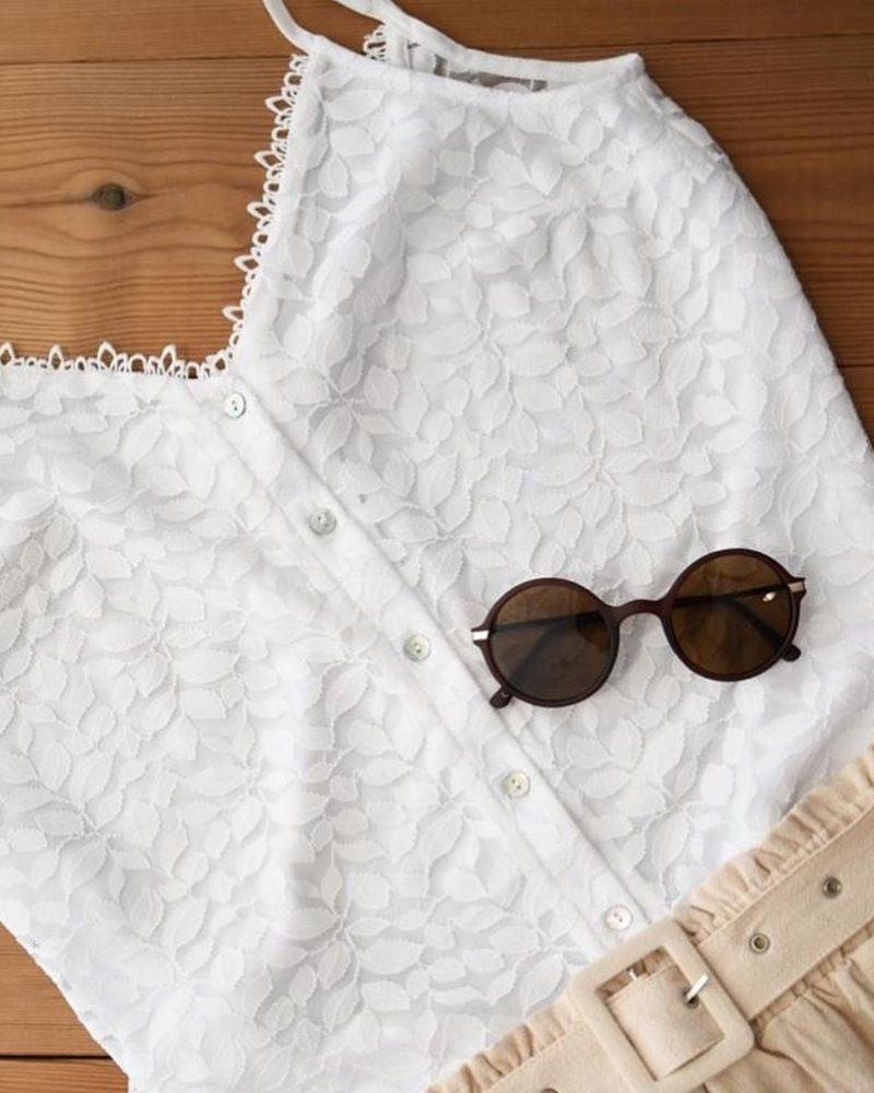 Leaves Top White