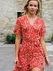 Corail Flower Frill Dress