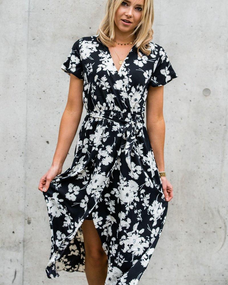 Summer Vibes Maxi Dress Black