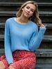 Crop Sweater Blue