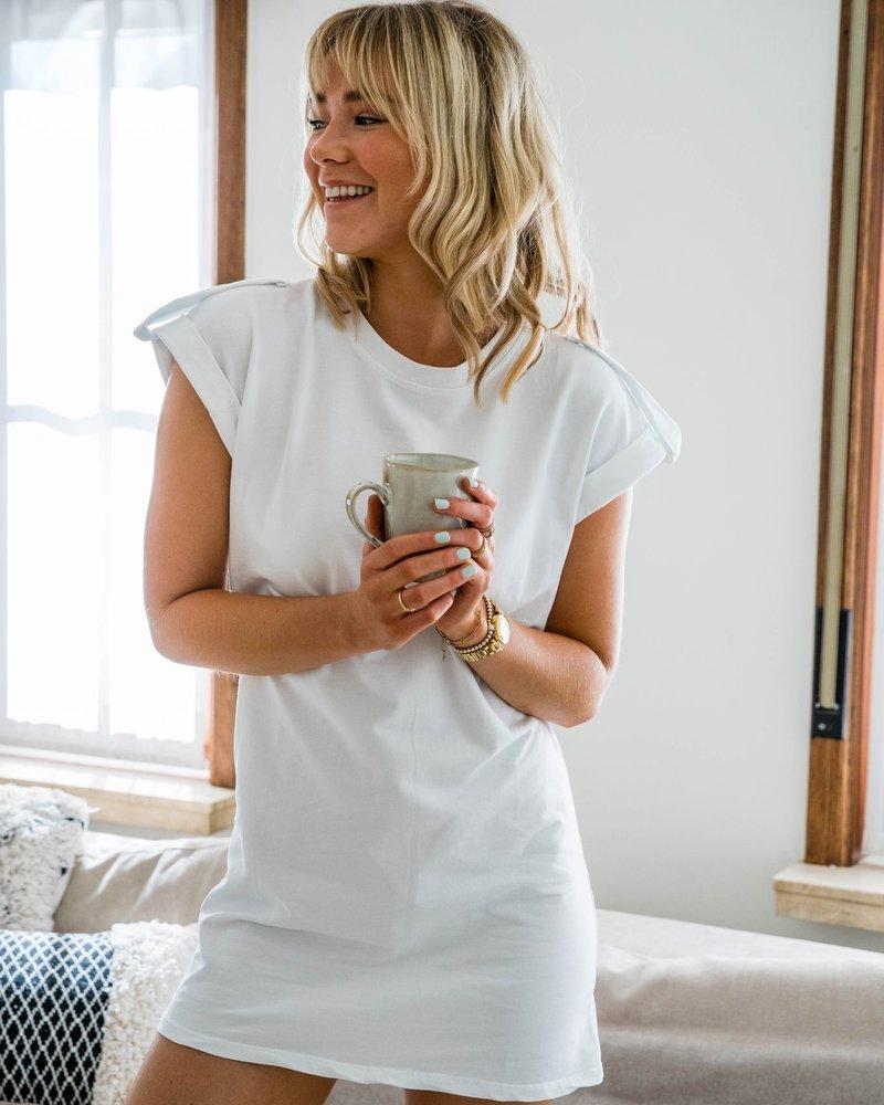 Ina Dress White