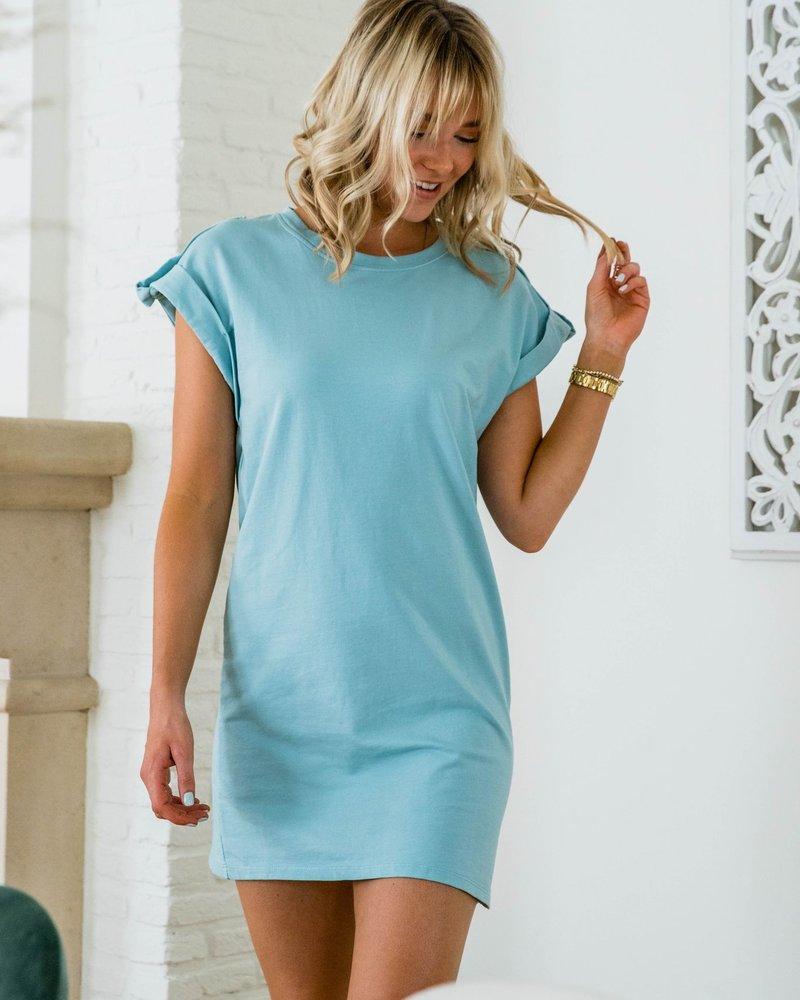 Ina Dress Blue