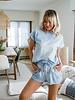 Sky Blue Homewear Short