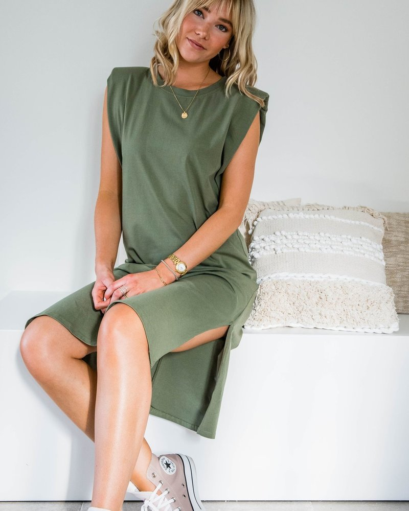 Kiana Dress Kaki