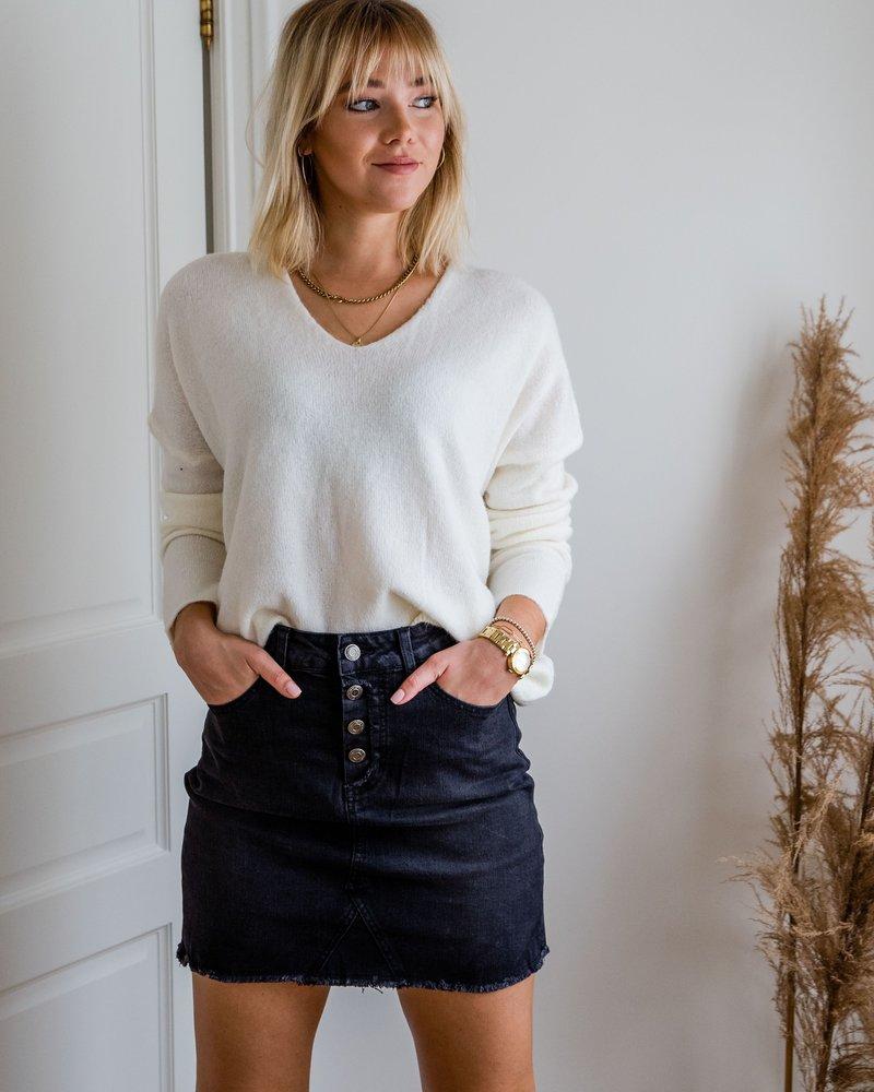 Pauline Sweater White