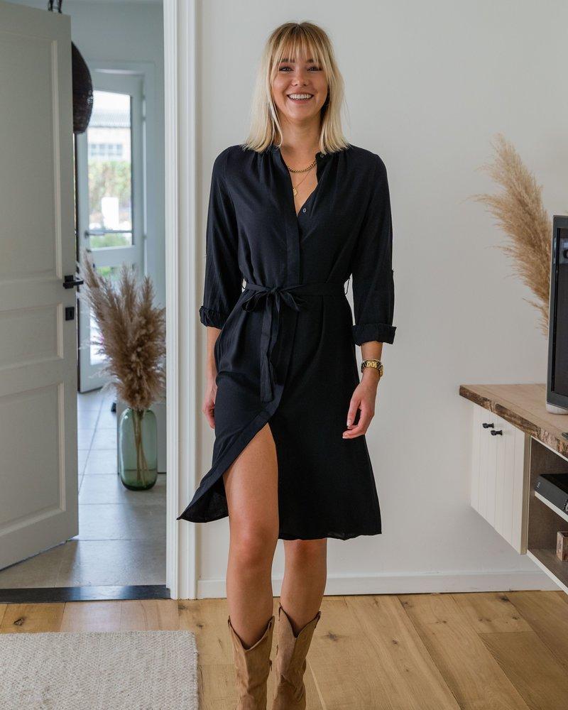 Fara Black Dress