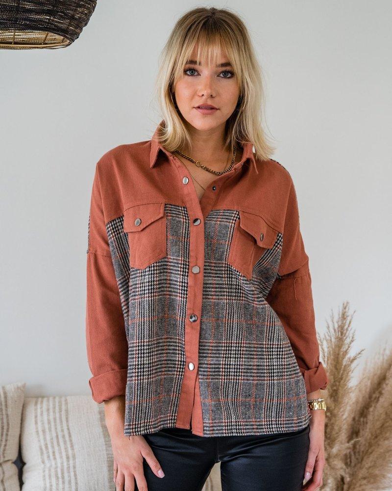Checkered Brique Vest
