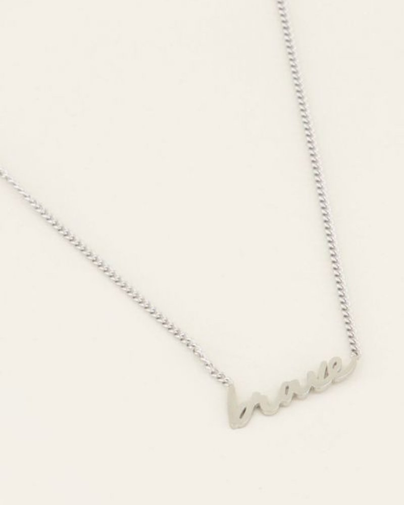 Ketting Brave Zilver