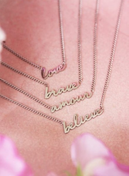 Ketting Amour Zilver