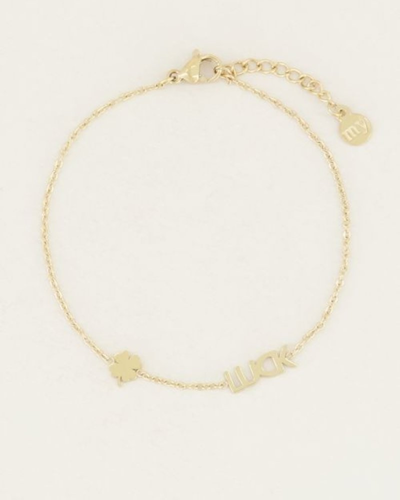 Armband Luck Zilver