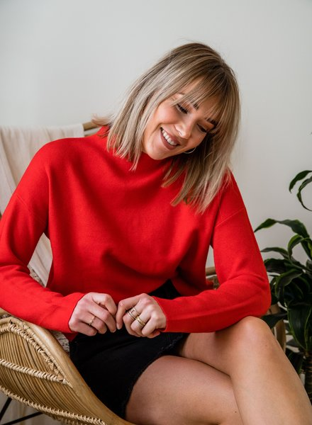 Jackie Sweater Red