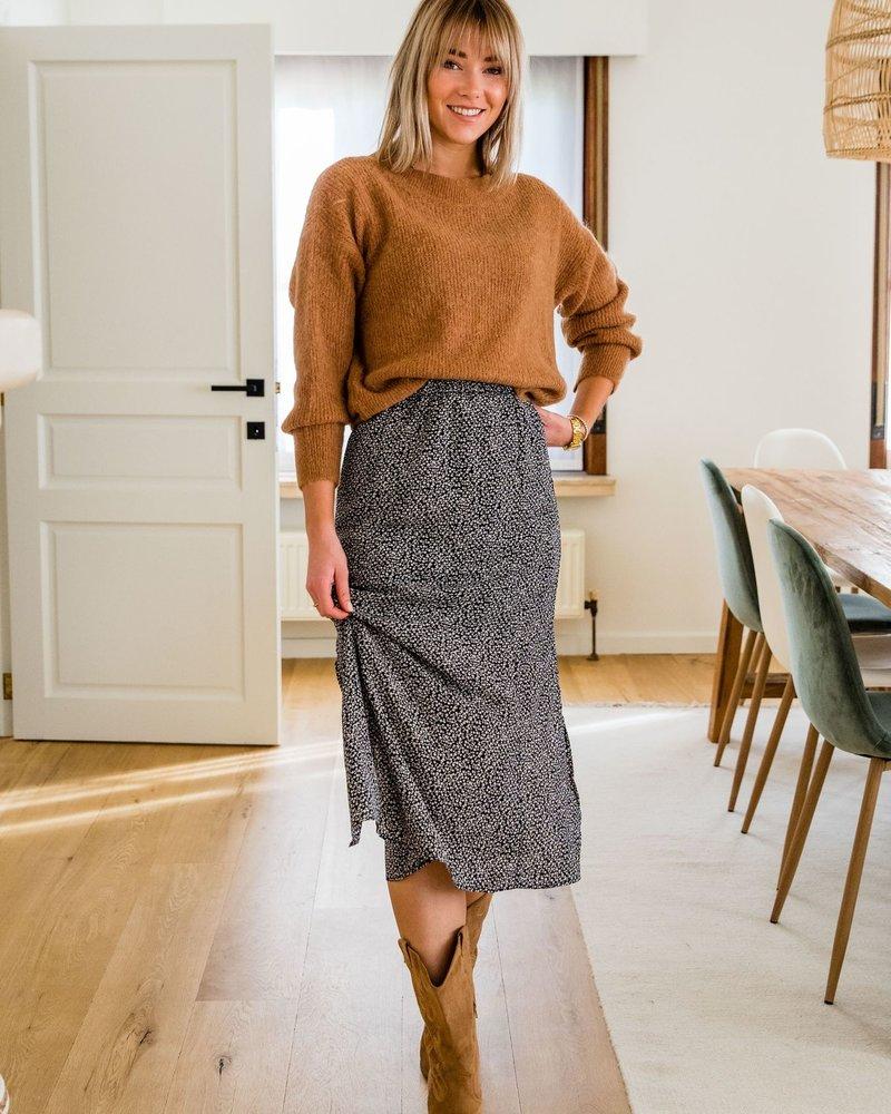 Crop Sweater Camel
