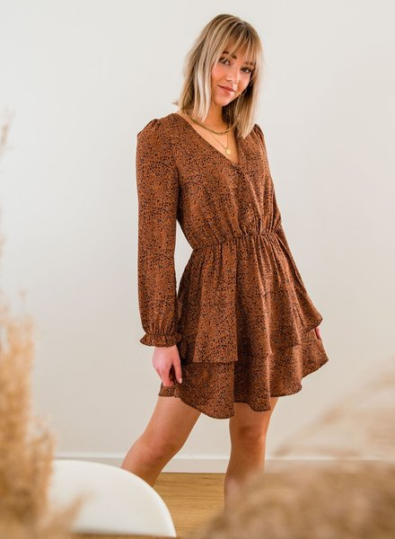 Leopard Mokka Dress