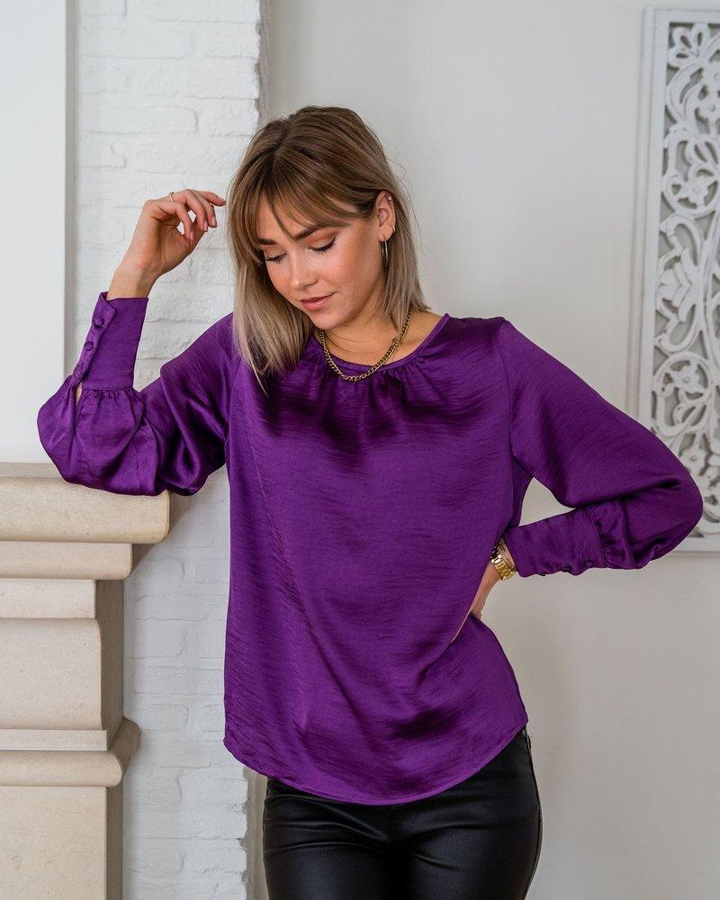 Cerise Blouse Purple