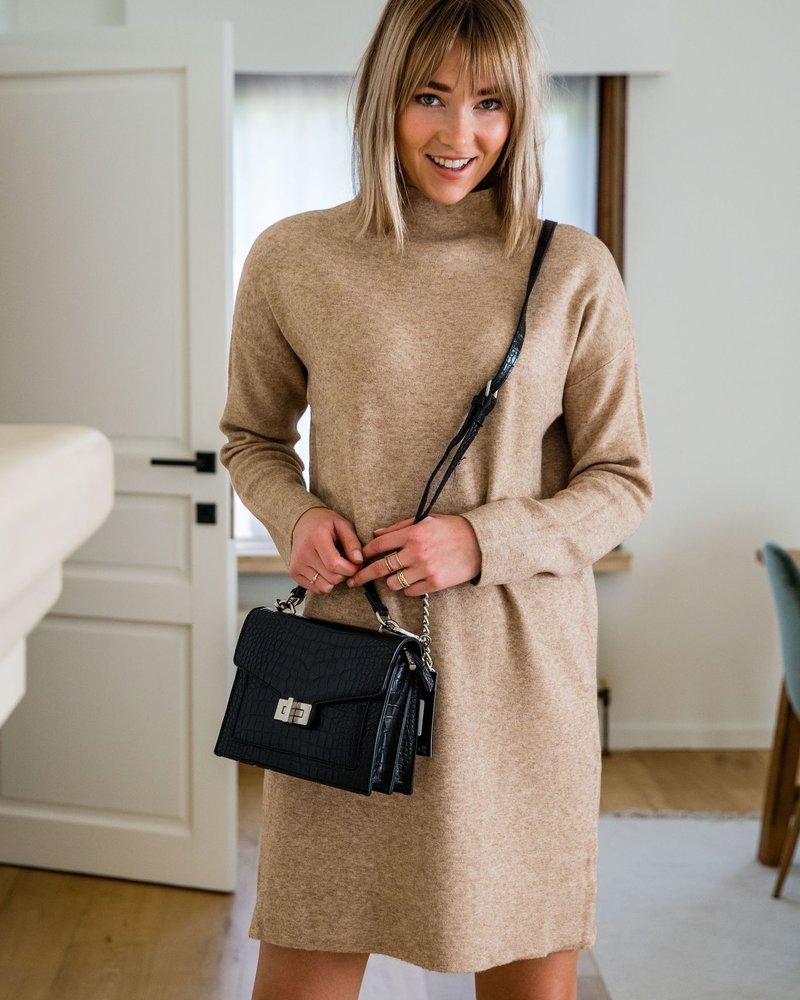 Jackie Sweaterdress Beige