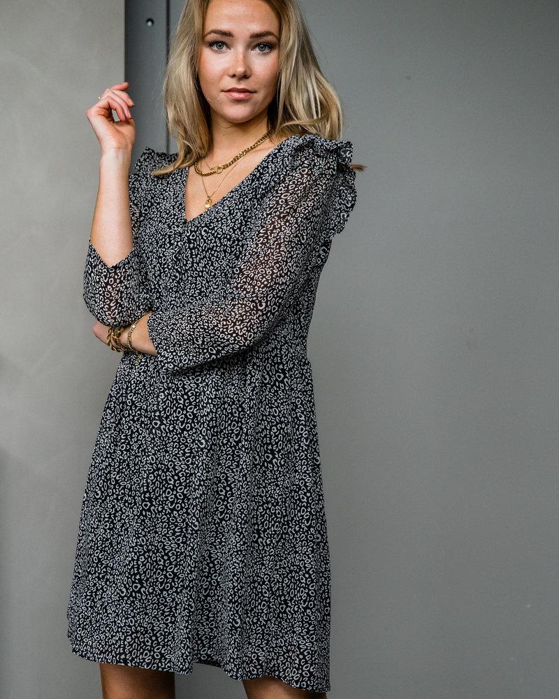 Selina Frill Shoulder Dress