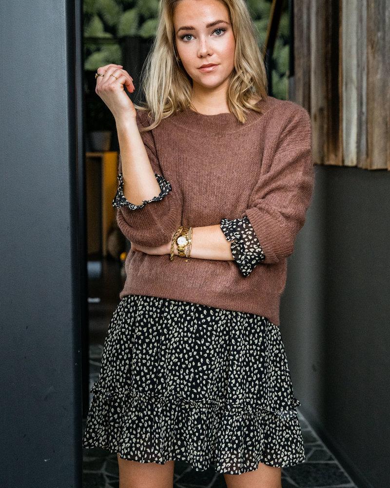 Crop Sweater Chocolat