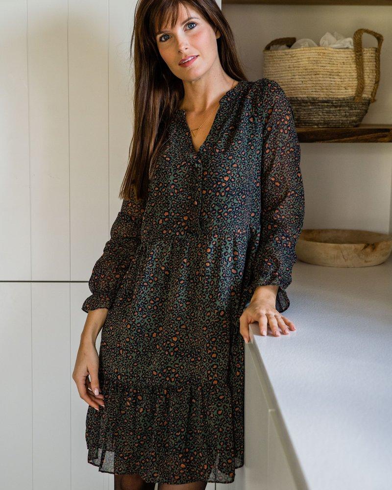 Senna Dress Kaki