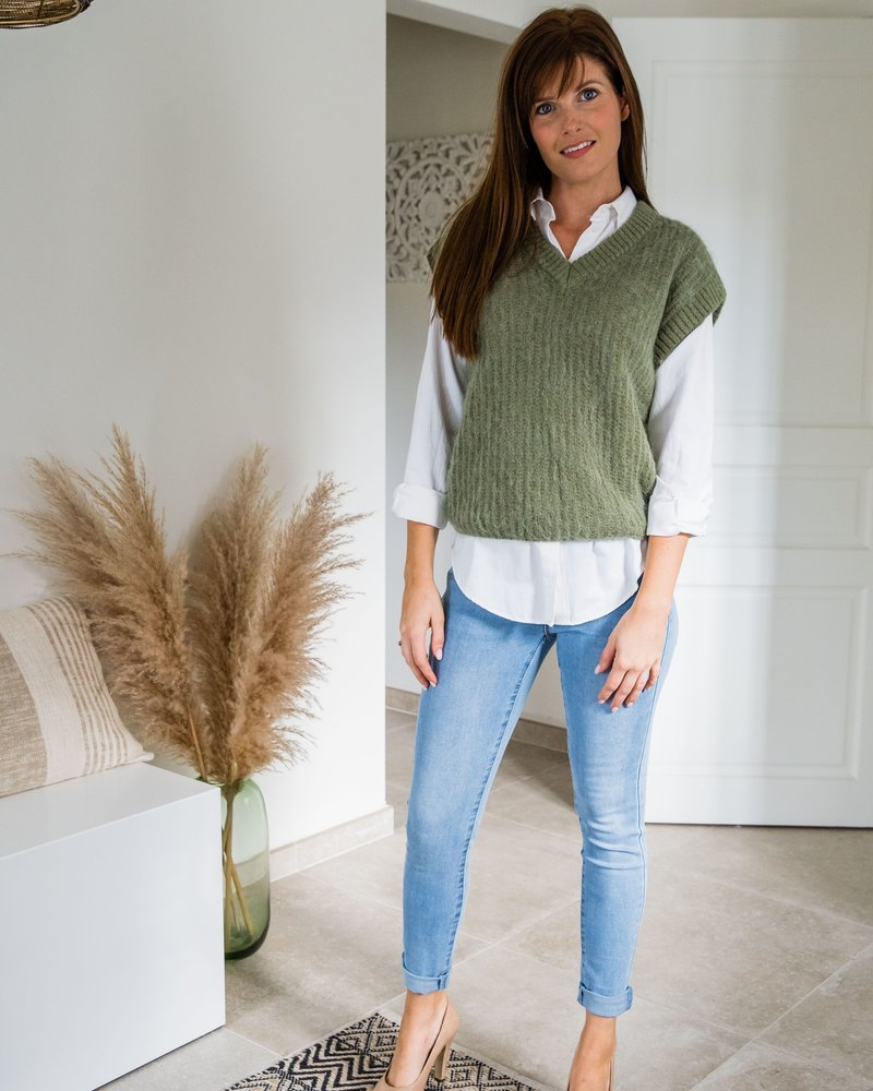 Mid waist Jeans LightBlue