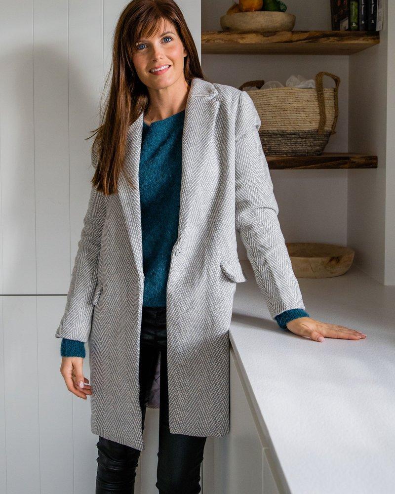 Striped Grey Jacket
