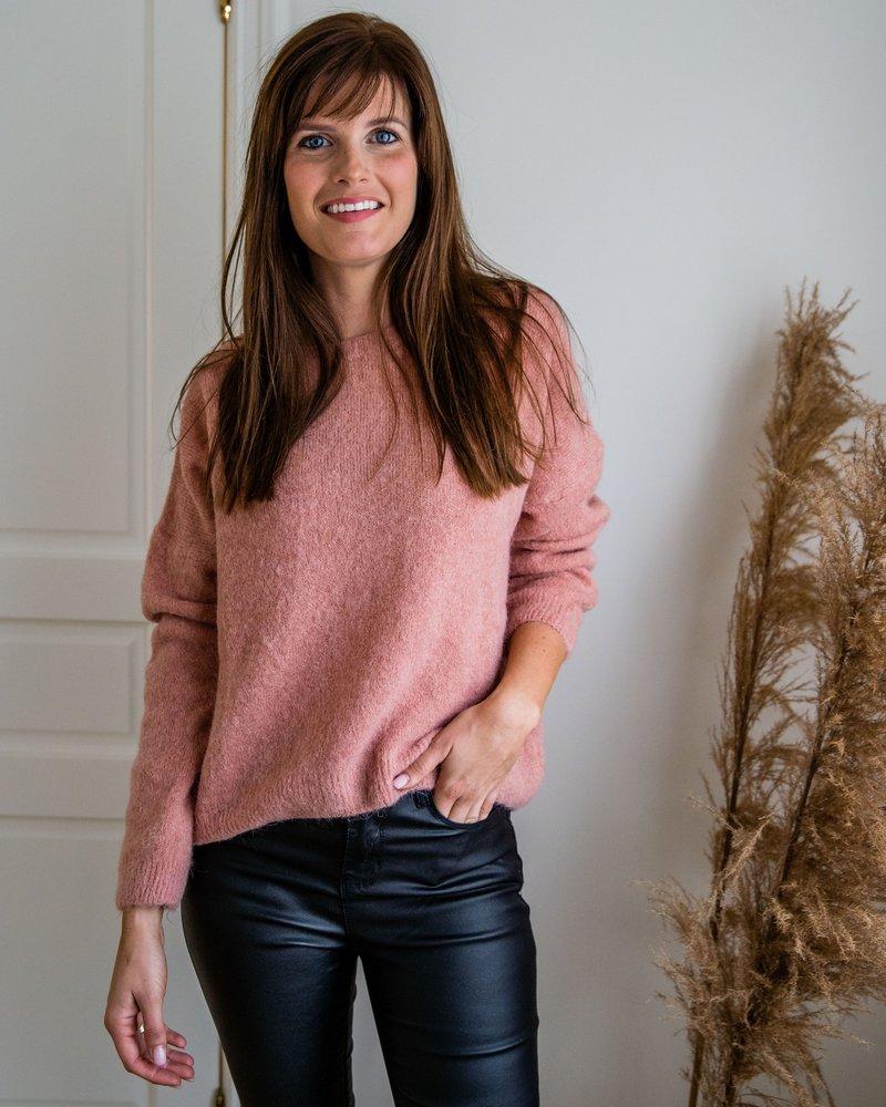 Loose Sweater Roze
