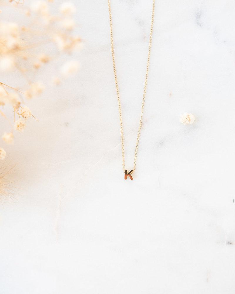 Gold Initial K