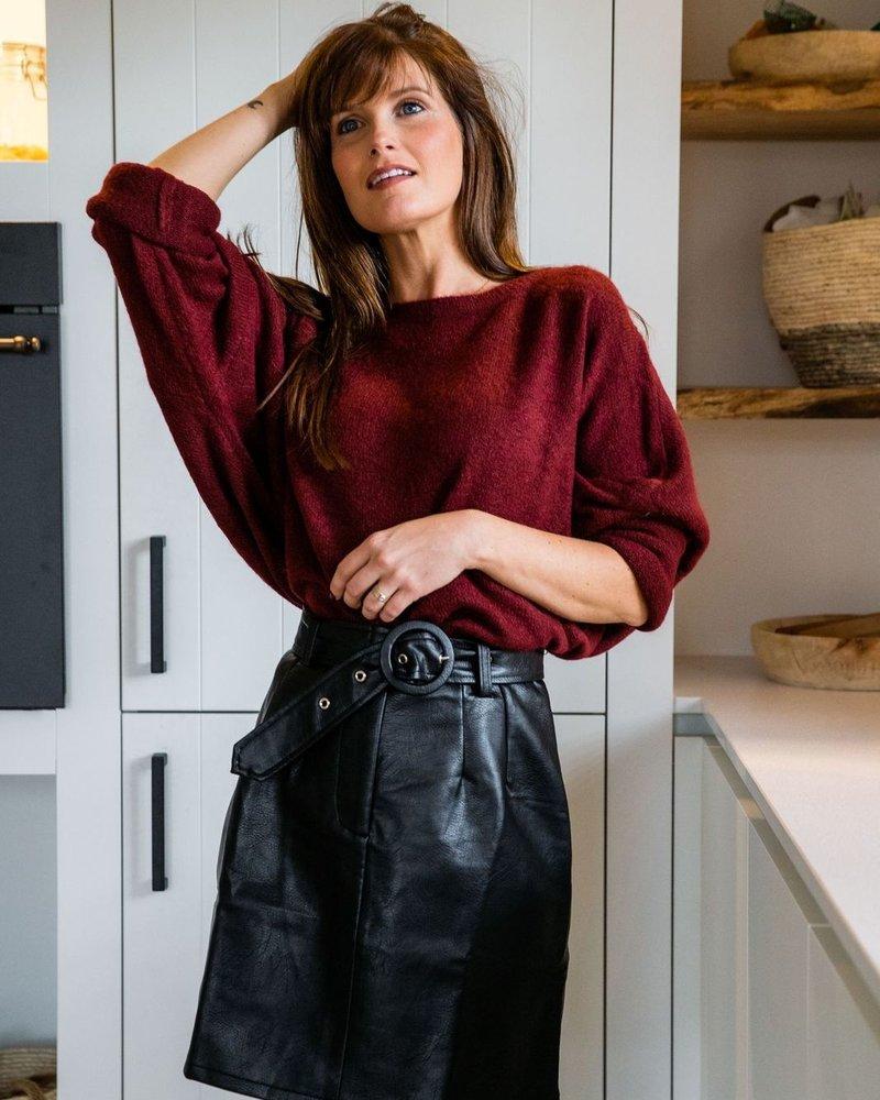 Lina Sweater Wine