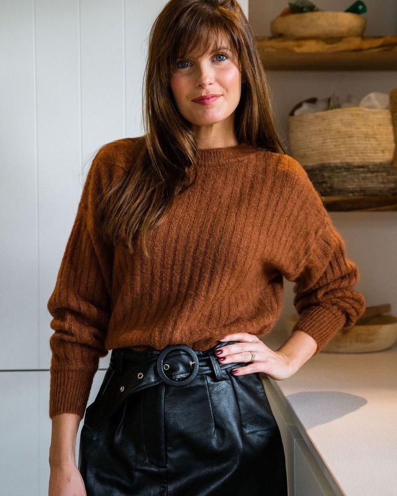Pauline Sweater Brown