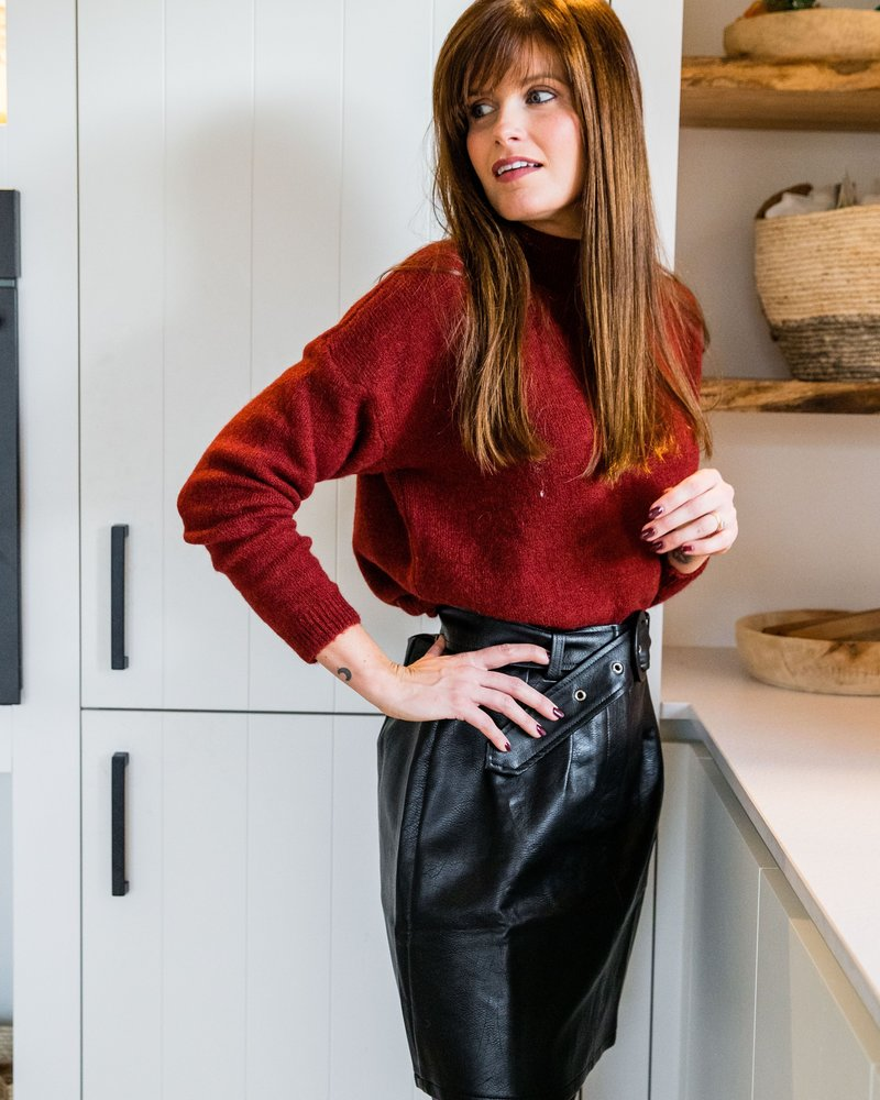 Olivia Sweater Brique