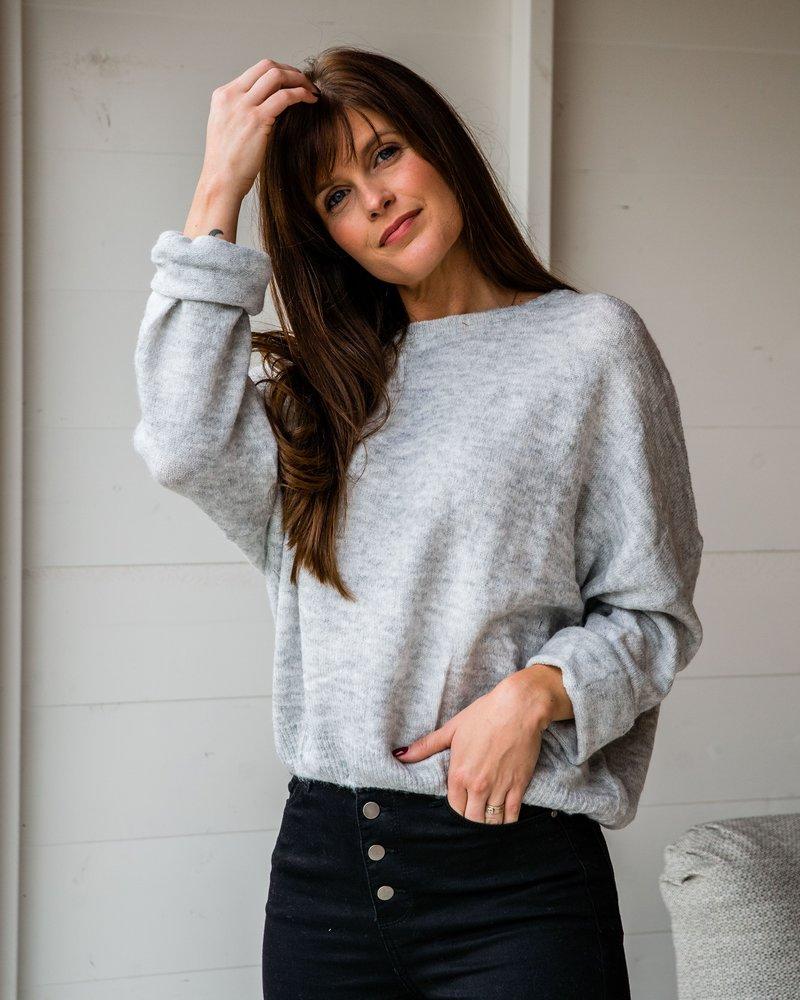 Lina Sweater Light Grey