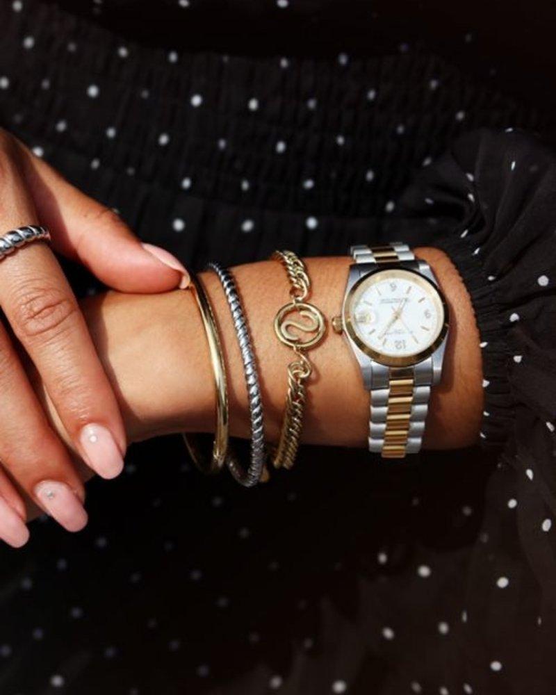 Armband Chunky Initials J