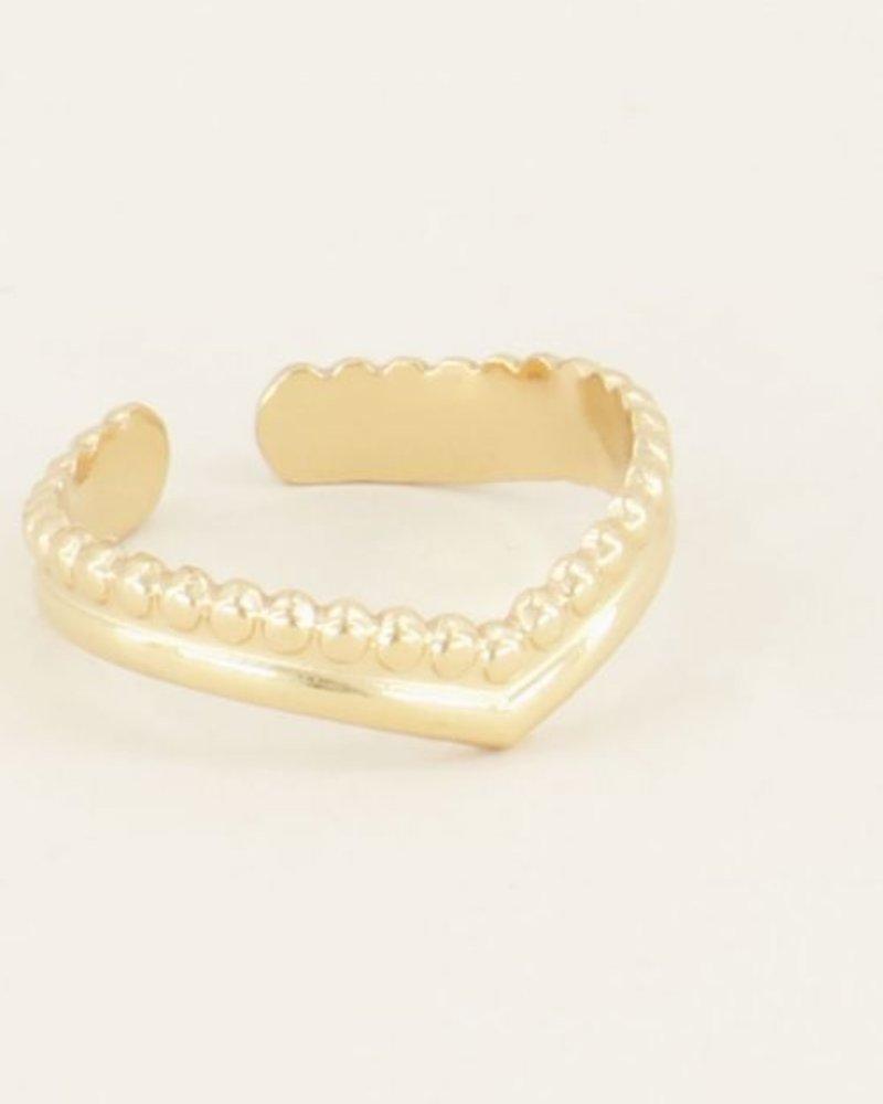 Ring v-vorm