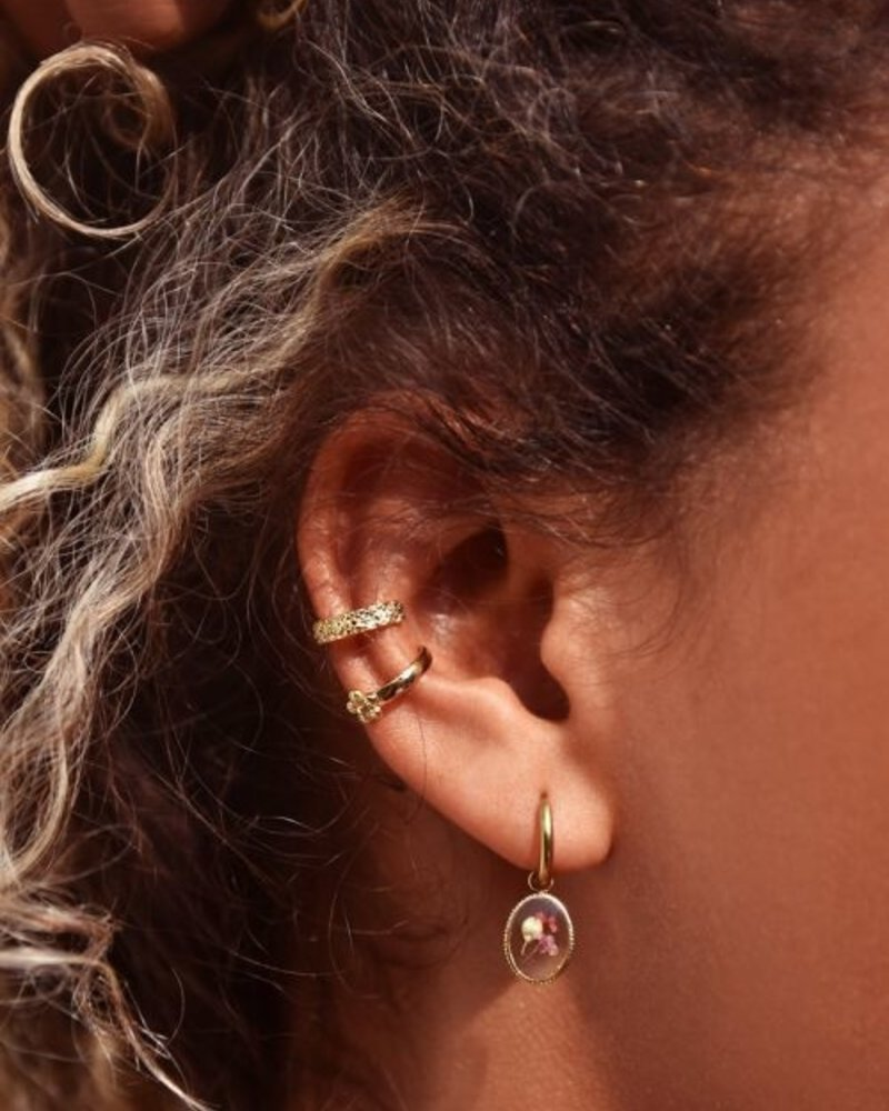 Ear cuff Bloempatroon