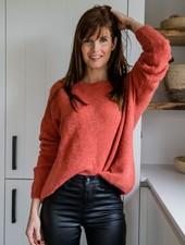 Loose Sweater Brique