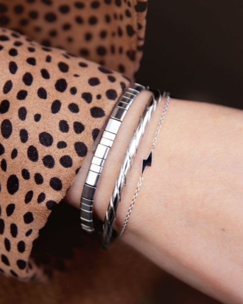 Armband Bliksem Zilver