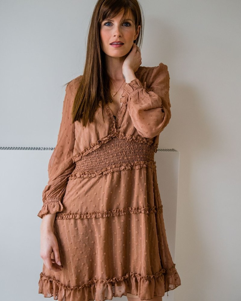 Dotted Dress Camel
